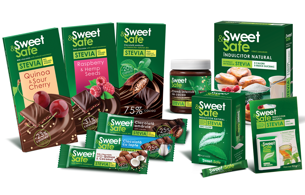 Stevia based confectionaries and sweeteners